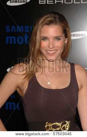 Susie Abromeit at the Samsung Behold ll Premiere Launch Party, Blvd. 3, Hollywood, CA. 11-18-09
