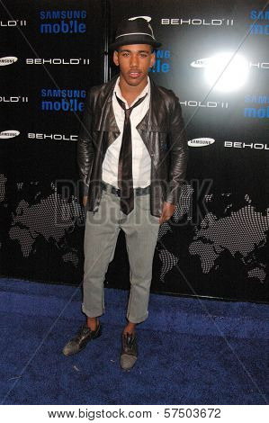 Brandon Smith at the Samsung Behold ll Premiere Launch Party, Blvd. 3, Hollywood, CA. 11-18-09