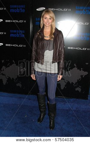Stacy Keibler at the Samsung Behold ll Premiere Launch Party, Blvd. 3, Hollywood, CA. 11-18-09