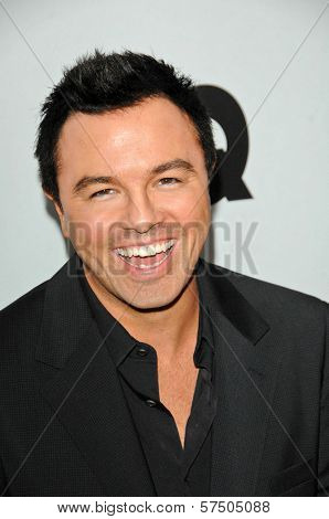 Seth MacFarlane  at the GQ Men of the Year Party, Chateau Marmont, Los Angeles, CA. 11-18-09
