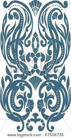 Corner Art Deco style