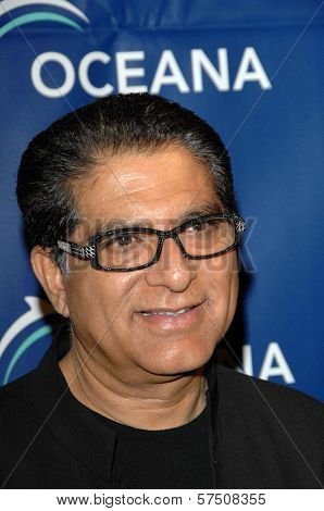 Deepak Chopra at the 2009 Oceana Annual Partners Award Gala, Private Residence, Los Angeles, CA. 11-20-09