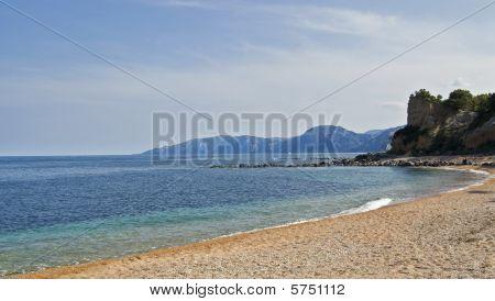 Beach in Cala Gonone