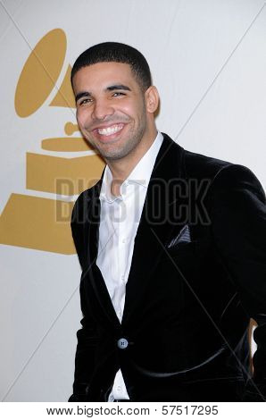 Drake  at The GRAMMY Nominations Concert Live!, Club Nokia, Los Angeles, CA.  12-02-09