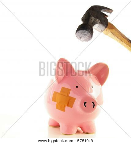 Piggy y martillo