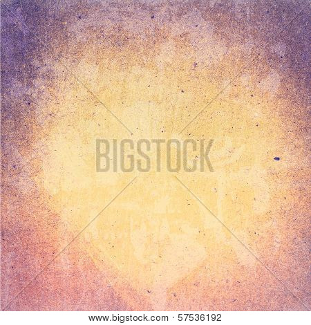 Abstract Designed  Detailed Grunge Paper Textured Background. High Resolution Recycled Colorful Yell
