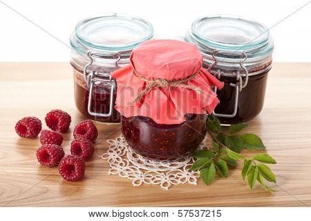 Raspberry Jams And Marmalade
