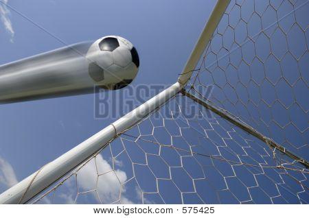Soccer Ball - Football In Goal