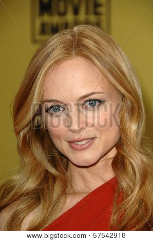 Heather Graham at the 15th Annual Critic's Choice Awards, Hollywood Palladium, Hollywood, CA. 01-15-10