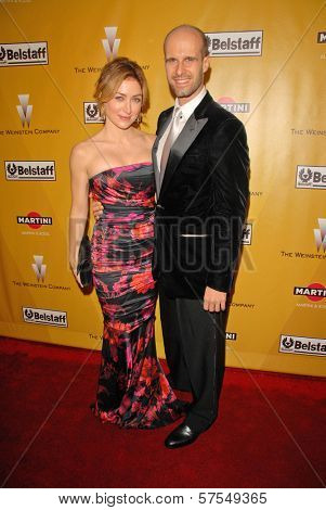 Sasha Alexander and Edoardo Ponti at The Weinstein Company 2010 Golden Globes After Party, Beverly Hilton Hotel, Beverly Hills, CA. 01-17-10