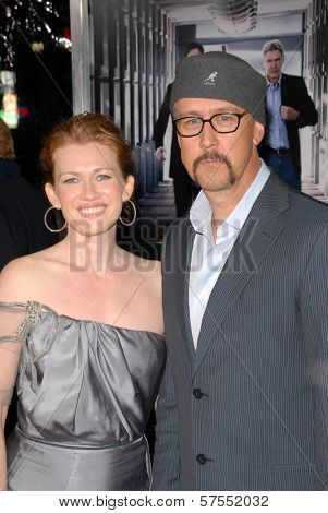 Alan Ruck and Mireille Enos at the