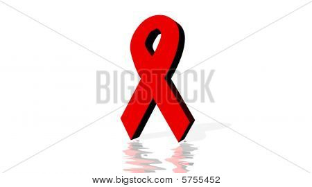 Red ribbon for aids