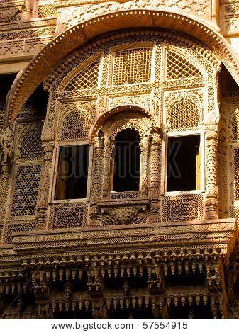 Window Of Rajasthani Haveli