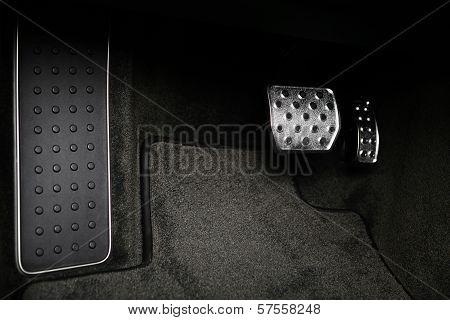 Pedals In A Car