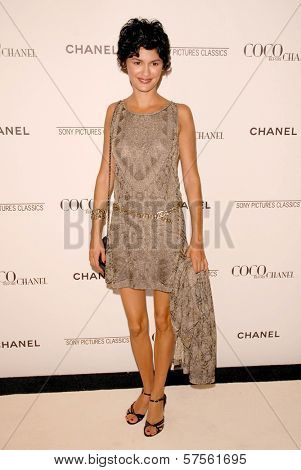 Audrey Tautou at the 'Coco Before Chanel' Premiere Party. Chanel, Beverly Hills, CA. 09-09-09