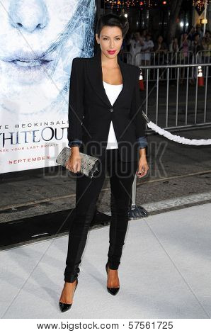 Kimberly Kardashian at the Los Angeles Premiere of 'Whiteout'. Mann Village Theatre, Westwood, CA. 09-09-09