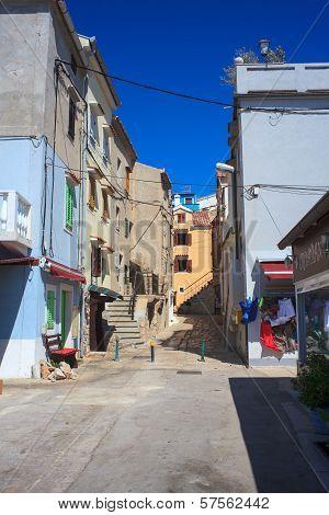 Baska Town, Croatia