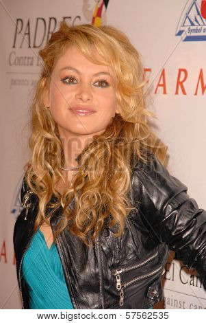 Paulina Rubio at the 9th Annual Padres Contra El Cancer's 'El Sueno de Esperanza'. Hollywood Palladium, Hollywood, CA. 09-10-09