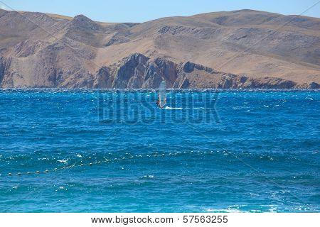 Windsurf, Baska Sea In Croatia