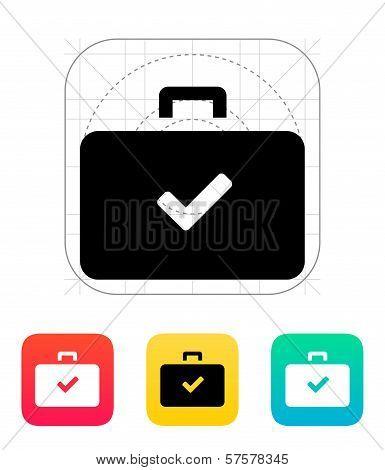 Check case icon.