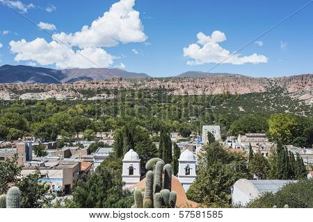 Humahuaca In Jujuy Province, Argentina.