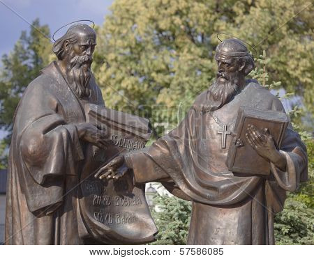 Monument to Cyril and Methodius.