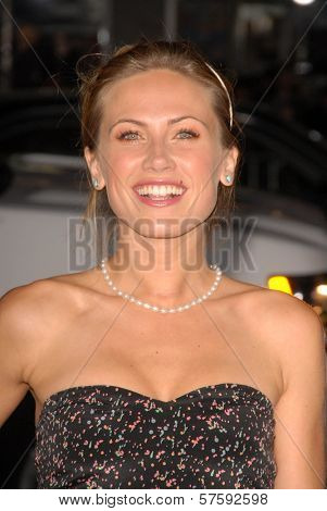 Vail Bloom  at the Los Angeles Premiere of 'Law Abiding Citizen'. Grauman's Chinese Theatre, Hollywood, CA. 10-06-09