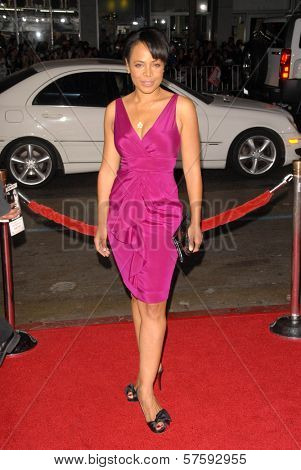 Gina Ravera at the Los Angeles Premiere of 'Law Abiding Citizen'. Grauman's Chinese Theatre, Hollywood, CA. 10-06-09