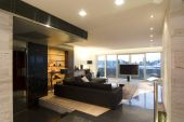 image of home theater  - contemporary loft in modern house in Zagreb - JPG