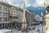 picture of bavarian alps  - INNSBRUCK AUSTRIA  - JPG