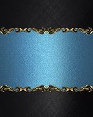 picture of jade blue  - Design template  - JPG