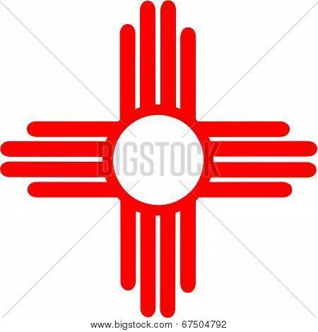 Native American Sun Symbol