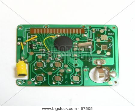 Small Electronic Circuit Board