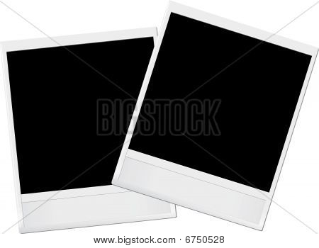 vector photo frames
