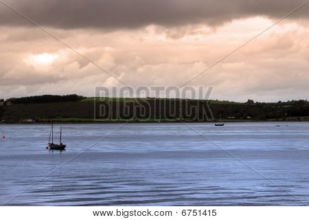 Youghal Boats At Dawn
