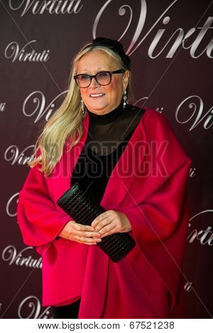 MOSCOW - JUNE, 28: Tatyana Mikhalkova. 36st Moscow International Film Festival. Closing Ceremony at Rossiya Cinema . June 28, 2014 in Moscow, Russia