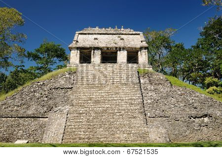 Palenque Maya Ruins In Mexico