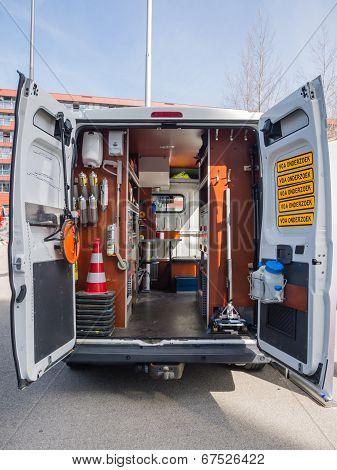 Forensic Police Van