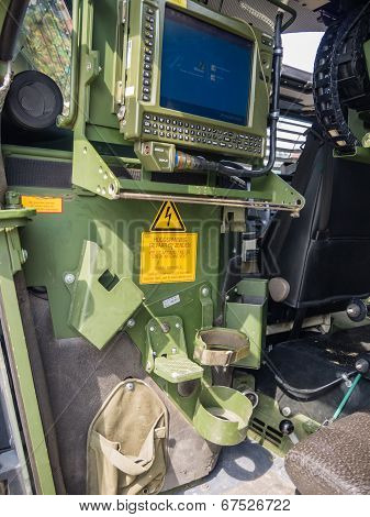 Inside A Dutch Military Vehicle