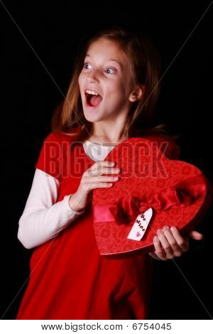 Excited Valentine