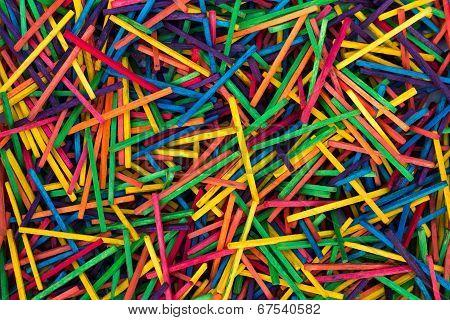 Color Sticks Texture