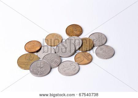 Slovak Coins (Slovak Crowns)