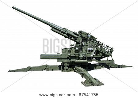 Super Heavy Old Anti-aircraft Guns
