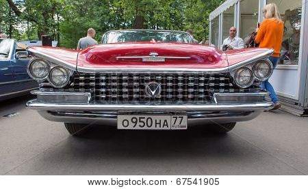 The Buick car on show of collection Retrofest cars
