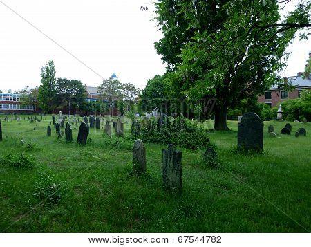 Graveyard In Salem, Masachusetts