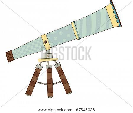 The view of telescope
