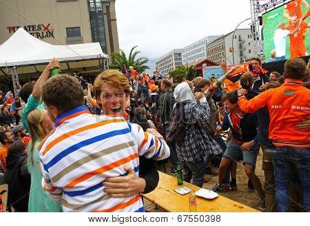 Netherlands Football Team Fans