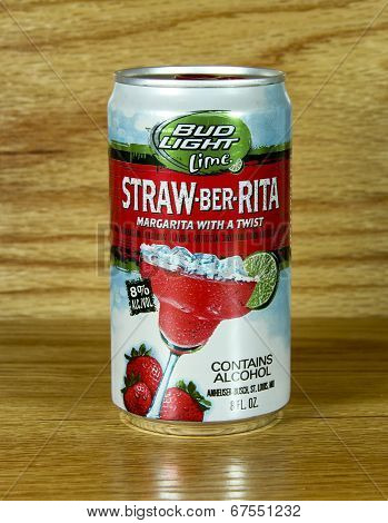 Can Of Straw-ber-rita