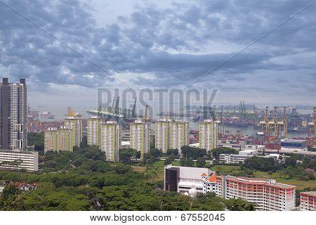 Port Of Singapore Shipyard