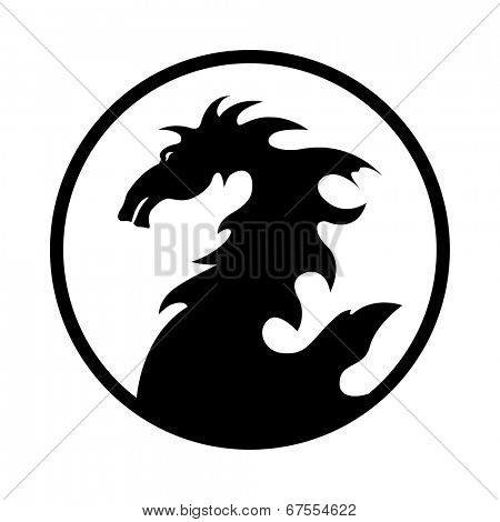 dragon design emblem